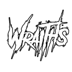 wraiths white with black outline